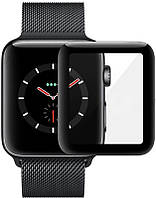 Защитное стекло Mocolo 3D Full Cover Tempered Glass Apple Watch iWatch 44mm Black