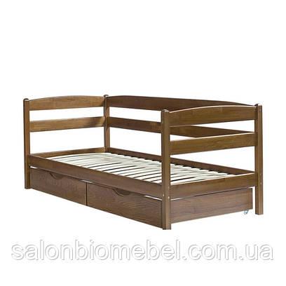 Кровать подростковая Ева 70х140 с ящиками