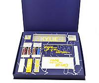 Набір косметики Kylie Jenner Big Box синій, великий подарунковий набір для макіяжу