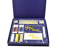 Набор косметики Kylie Jenner Big Box синий, большой подарочный набор для макияжа
