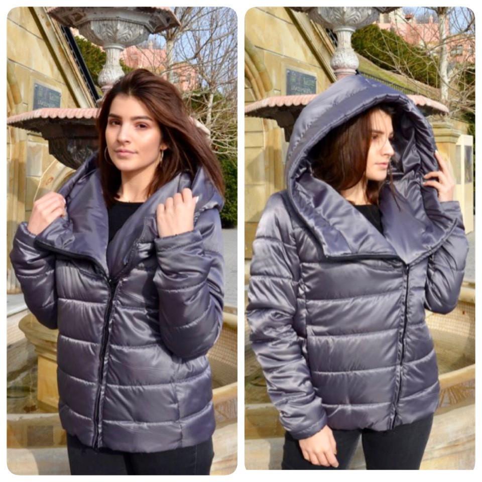 87c2f7e9 Новинка!. Модная куртка, арт М523, цвет серо-зеленый: продажа, цена ...