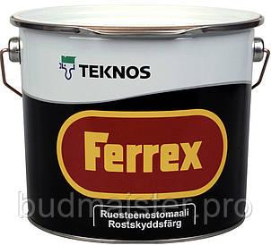 Фарба Teknos Феррекс біла, 3 л