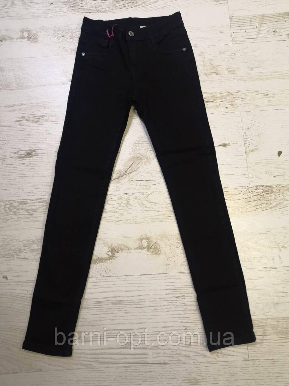Джинсовые брюки для девочек оптом, KeyiQi, 134-164 рр.