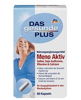 Витамины для женщин в период менопаузы DAS gesunde PLUS Meno Aktiv, 60 St