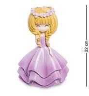 """Скарбничка """"Дівчинка у фіолетовій сукні"""" MF-02"""