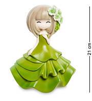 """Скарбничка """"Дівчинка в зеленому платті"""" MF-03"""