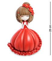 """Скарбничка """"Дівчинка в червоному платті"""" MF-07"""