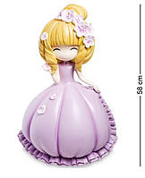 """Скарбничка """"Дівчинка у фіолетовій сукні"""" MF-13"""