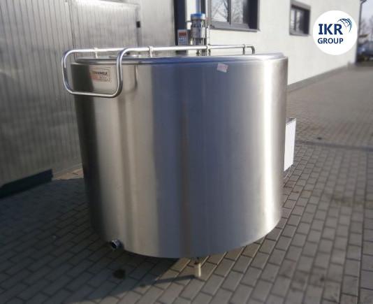 Холодильник для молока БУ Frigomilk G4 объемом 1200 литров / Охолоджувач молока