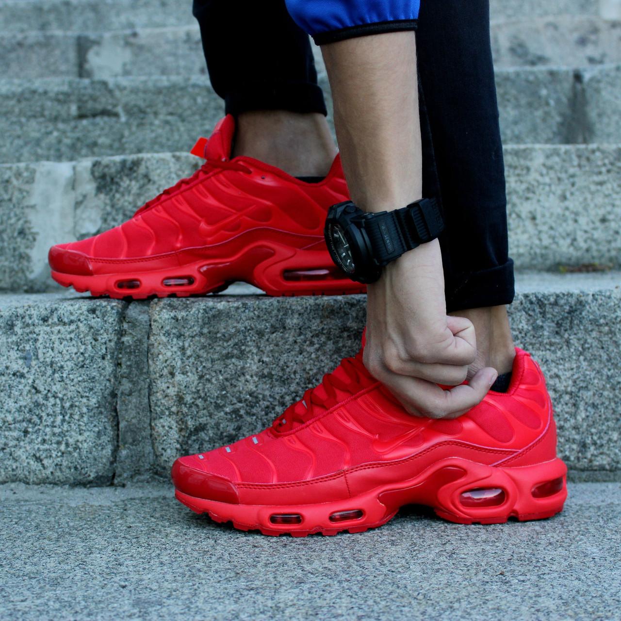 Nike Air Max TN Plus  Red (реплика)