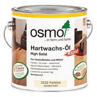 Масло для дерева с ускоренным временем высыхания Hartwachs-Ol Rapid, 3240 белое прозрачное 0,75 л