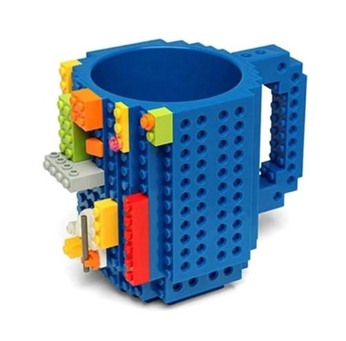 """Детская голубая чашка """"Lego"""" - 350мл (не оригинал)"""