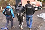 Польща. Поліція затримала банду яка грабувала вантажівки