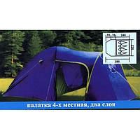 Палатка 4-местная кемпинговая, Coleman 1009, фото 1