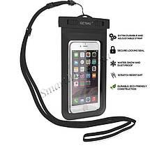 Чехол водонепроницаемый Getihu Waterproof для мобильных телефонов или документов (Черный), фото 2