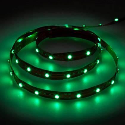 Светодиодная лента 4,8вт/м зеленая 12в Feron LS603, фото 2