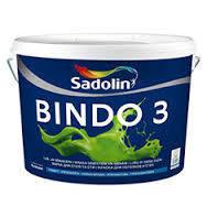 Краска для стен и потолков Sadolin Bindo 3 10л (Садолин Биндо 3)