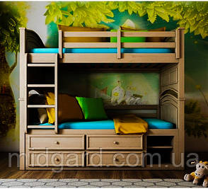 """Двухъярусная кровать """"Шотландец"""" (трансформер), фото 2"""