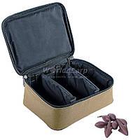 Сумка для грузил и аксессуаров WORLD4CARP LEAD BOX COYOTE (23 х 18 х 8 см)