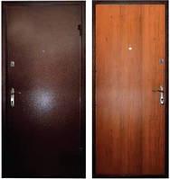 Входная дверь Новосел метал/ДСП