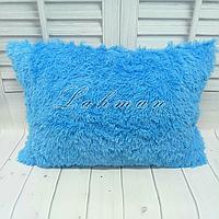 Чехол для подушки травка  50х70 см., цвет голубой