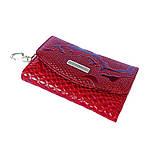 Ключница кожаная Karya 434-019 лаковая красная , фото 2