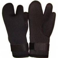 Перчатки 6мм трехпалые W-930