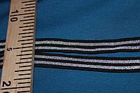 2 см.. лента трикотажная люрекс узкая №1013, фото 1
