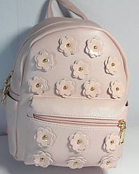 Рюкзак кожзаменитель цвет пудра