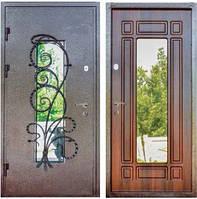 Входная Дверь стекло+Художественная ковка