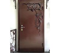 Металлическая входная дверь Художественная ковка