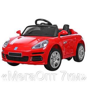 Детский электромобиль M 3446EBLR-3 PORSCHE красный