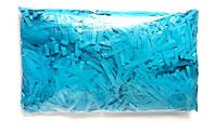 """Конфетти """"Тонкие полоски"""", цвет голубой, 250 г."""