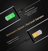 Кабель Micro USB Ugreen US134 для зарядки и передачи данных (Черный), фото 2