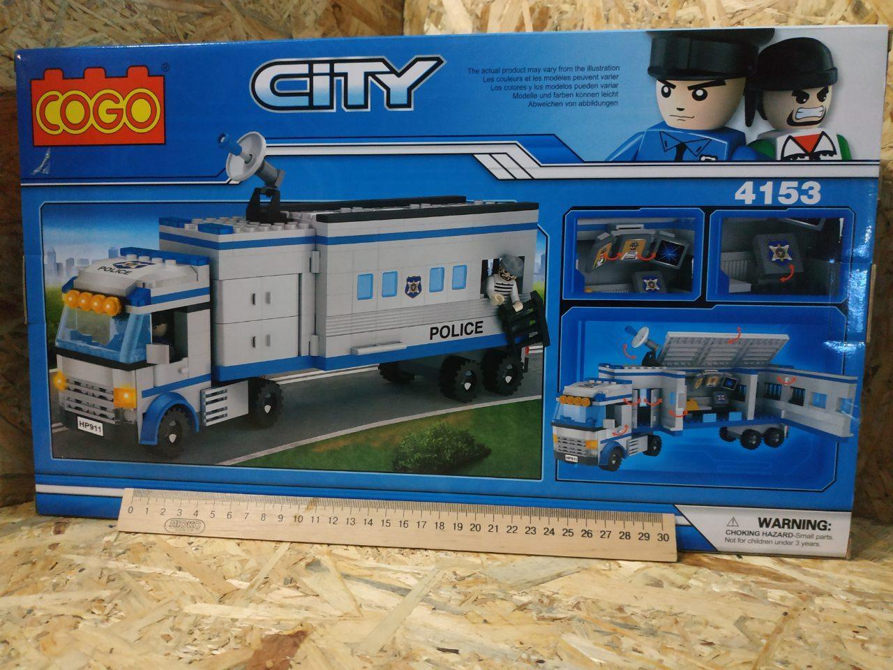 Конструктор COGO City 4153 Полицейский участок