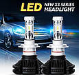 Комплект светодиодных ламп головного света LED X3-H1 15 ксенон Xenon X3-H1 15 LED, фото 3