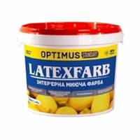 Краска интерьерная моющая Optimus Latexfarb 14 кг