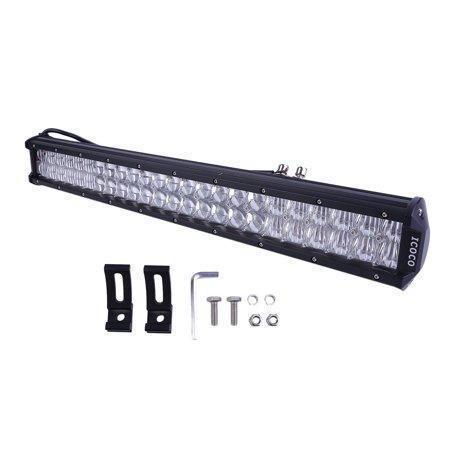 Автофара LED (48 LED) 5D-144W-MIX прямоугольная автофара 144W на 48 ламп