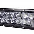 Автофара LED (60 LED) 5D-180W-SPOT прямоугольная автофара 180W балка на 60 ламп , фото 7