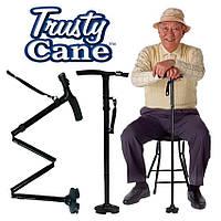 Складная трость с фонариком Trusty Cane!Скидка
