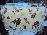 Одеяло Шерстяное в бязи евро размер без чемодана