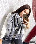 Женский шарф палантин с логотипом Louis Vuitton много цвеов, фото 3