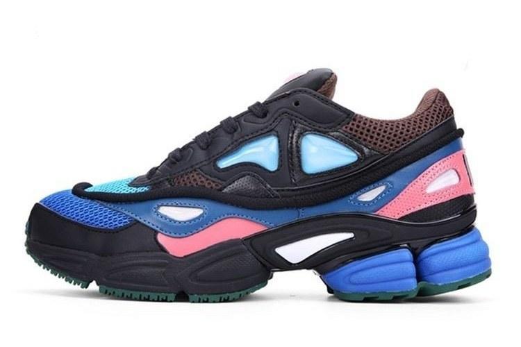 c7f1a42190d0 Кроссовки Adidas Consortium Ozweego 2 X Raf Simons Black Pink Blue ...
