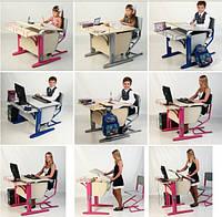 Растущие парты Дэми (производство  Росии)- настоящий хит среди школьной мебели!