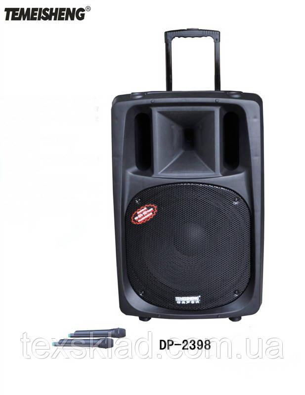 Колонка на аккумуляторе МЕГА DP- 2398 с микрофоном