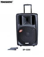 Колонка на аккумуляторе МЕГА DP- 2398 с микрофоном , фото 1
