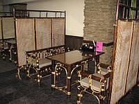 Мебель из бамбука.Перегородки, столы ,кресла