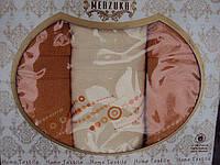 "Комплект полотенец ""Merzuka"" Турция №2, фото 1"