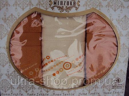 "Комплект полотенец ""Merzuka"" Турция №2"