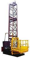 Строительный подъемник мачтовый секционный ПМГ г/п-1000 кг